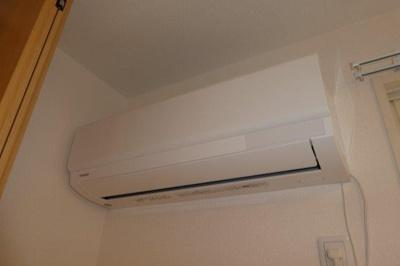 寝室エアコン
