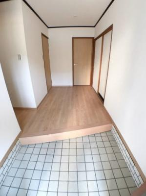 玄関の写真です♪ 玄関スペースもとても広いですよ♪