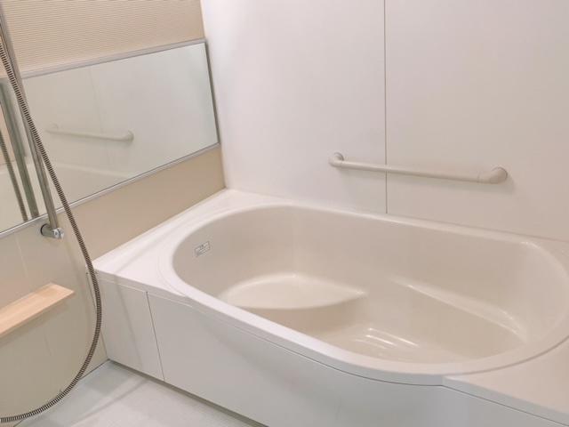 広~いお風呂で一日の疲れを癒してくださいね!(^^)!