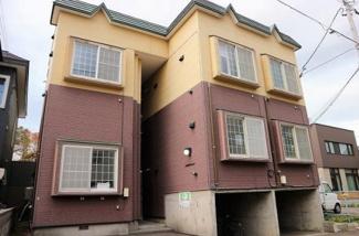 【外観】札幌市豊平区月寒東二条3丁目一棟アパート