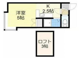 札幌市豊平区月寒東二条3丁目一棟アパート