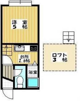 【間取り】札幌市豊平区月寒東二条3丁目一棟アパート