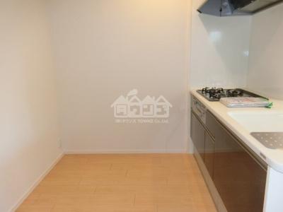 同建物反転間取り参考写真キッチン裏スペース・ノースリバー北川