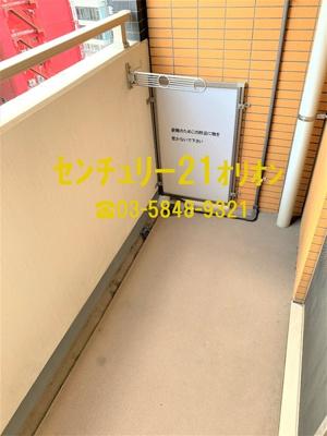 【バルコニー】GALA Station 練馬(ネリマ)