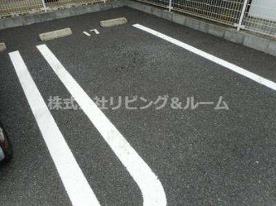 【駐車場】レジデンス・Ⅶ棟