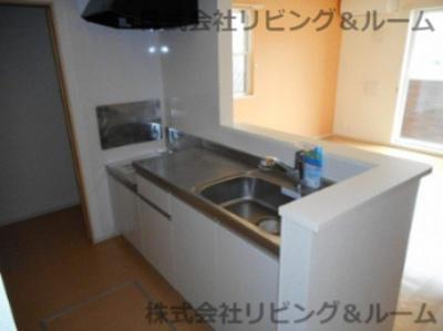 【キッチン】レジデンス・Ⅶ棟