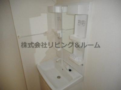 【洗面所】レジデンス・Ⅶ棟