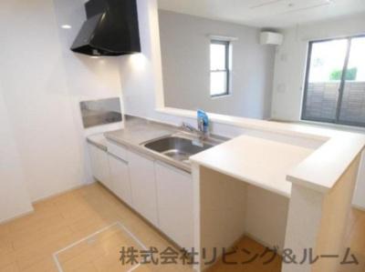 【キッチン】ブリアンベル・ウッド・Ⅰ棟
