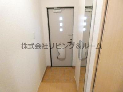 【玄関】ブリアンベル・ウッド・Ⅰ棟