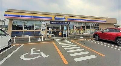 ミニストップ 日高南平沢店まで400m