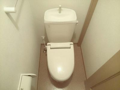 【トイレ】カーサフィオーレⅡ