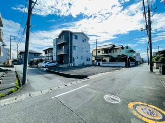【前面道路含む現地写真】沼津市寿町 新築戸建 全1棟
