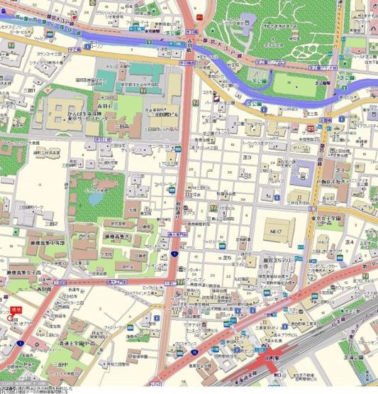 【地図】日神パレステージ三田