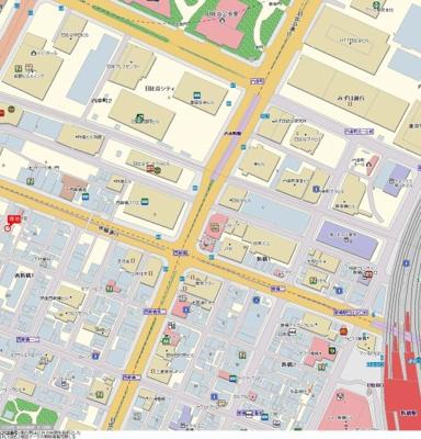 【地図】ミリオンタワー虎ノ門