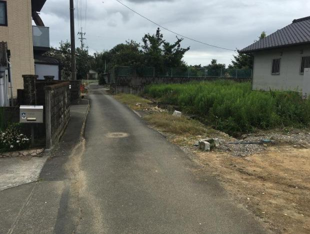 【前面道路含む現地写真】春野町弘岡上