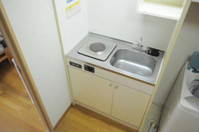 【キッチン】レオパレスチェリーブロッサム