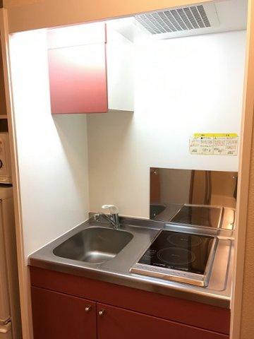 【キッチン】レオパレスグリーンヒル