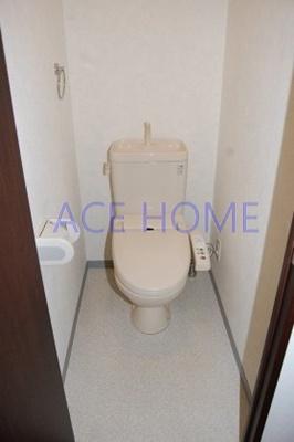 【トイレ】ローズコーポ本町