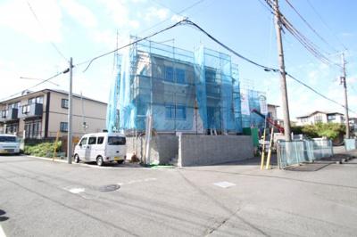 【前面道路含む現地写真】座間市立野台2丁目 新築戸建て 全5棟 【仲介手数料無料】