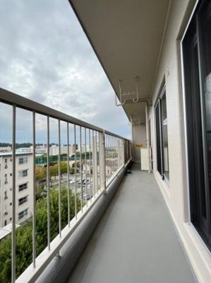 【バルコニー】新多聞第2住宅115号棟