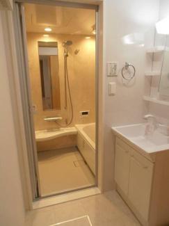 【浴室】リバージュ清澄白河