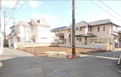 【前面道路含む現地写真】東村山市富士見町3丁目 全2棟 1号棟