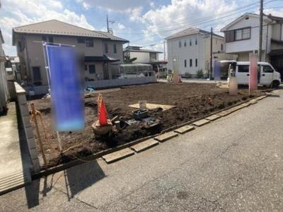 【前面道路含む現地写真】東村山市富士見町3丁目 全2棟 2号棟