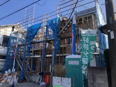 【外観】所沢市中新井5丁目 全2棟 1号棟