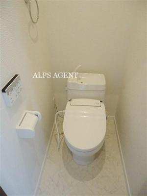 嬉しいシャワートイレ付・同一仕様