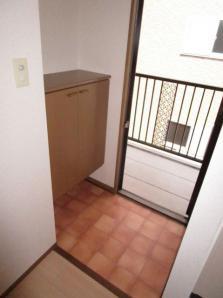 広々使えるキッチンです。2口のガスコンロ設置可能です。