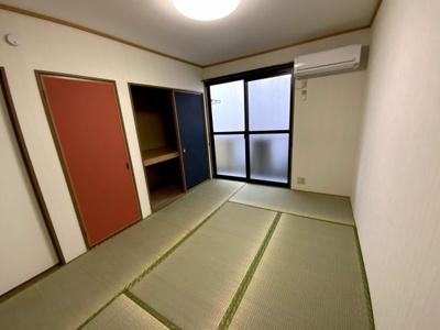 6帖洋室の収納です。ハイアット厚木