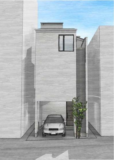 ◇Appearance◇土地の特徴を最大限活かす建物プランをご提案しております。窓を多くとることで採光を確保!バルコニーは南東向きに設置していますので、洗濯物も安心して干せます♪