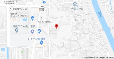 【地図】松友第6マンション (株)Roots
