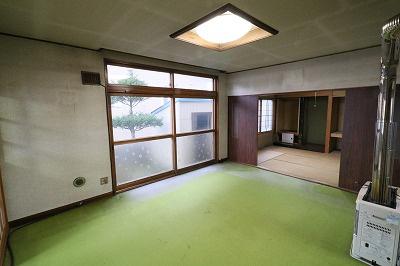 【居間・リビング】釧路市宮本 中古戸建