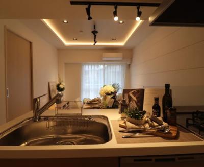 ライオンズマンション東長崎第2のキッチンです。