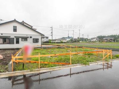 【外観】新築分譲住宅 狭山市柏原15期 全6棟(12号棟)