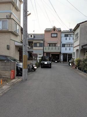【前面道路含む現地写真】京都市山科区椥辻封シ川町