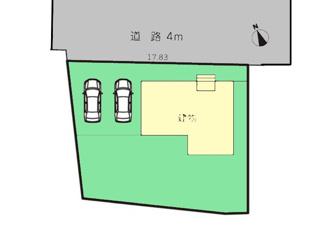 【区画図】富士市中里21-2期 新築戸建 全2棟 (1号棟)