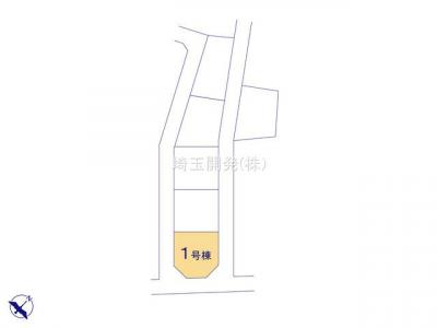 【区画図】新築分譲住宅 狭山市柏原15期 全6棟(1号棟)