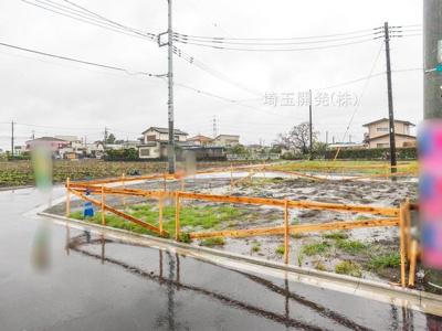 【外観】新築分譲住宅 狭山市柏原15期 全6棟(1号棟)