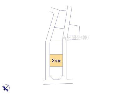 【区画図】新築分譲住宅 狭山市柏原15期 全6棟(2号棟)