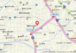 【地図】R2マンション・