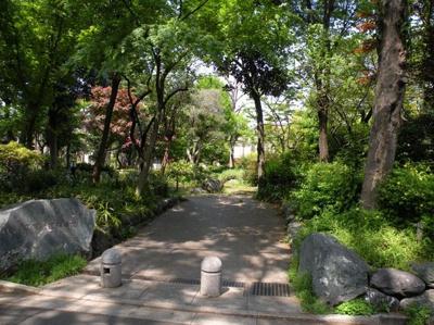 江原屋敷の森緑地