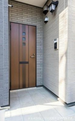 【玄関】吉見町久保田アパート