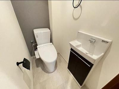 清潔が保たれる新品のトイレは気持ちが良い!