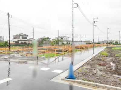 【外観】新築分譲住宅 狭山市柏原15期 全6棟(4号棟)