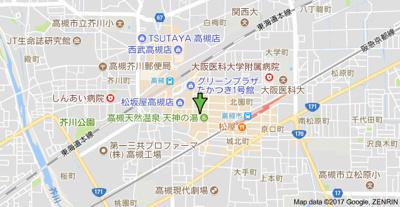 【地図】パステル神山 (株)Roots