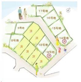 【区画図】雄琴4丁目 16号地