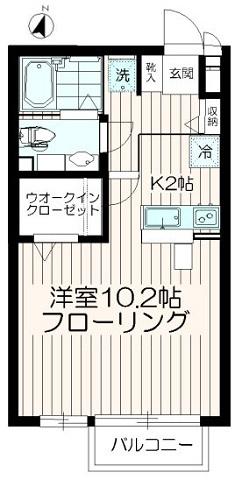 バストイレ別【エストレージャ】