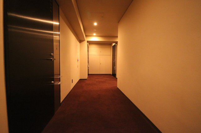 ホテルのような廊下です!